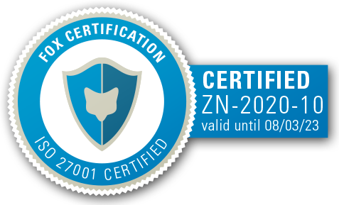 PatentSight ISO 27001 certification